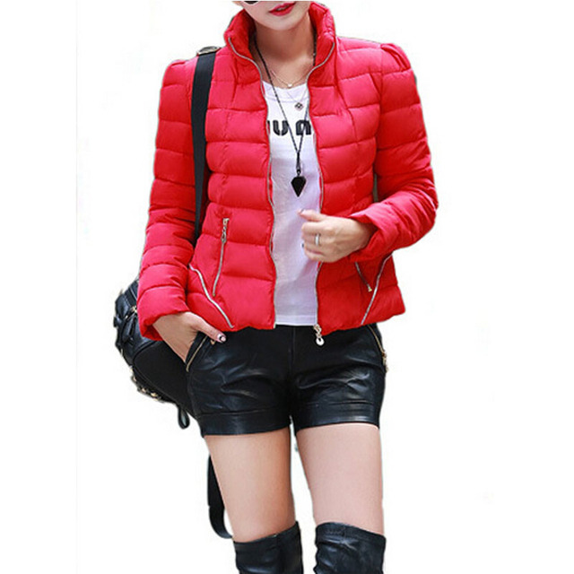 Aliexpress.com : Buy 2015 Ladies Winter Red Down Coat Thicken ...
