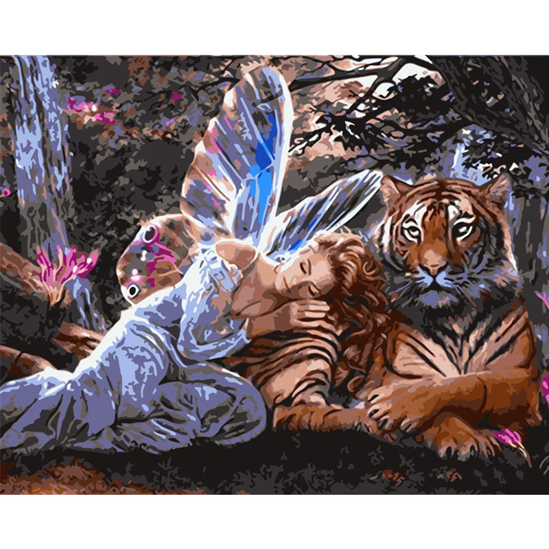 WM-943-精灵与虎