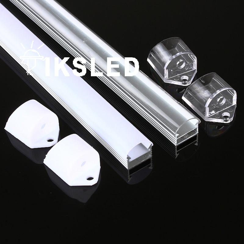 50pcs Plastic ABS End Cap  For 5050 5630 Led Rigid Bar Light Led Bar Housing Aluminum Channel