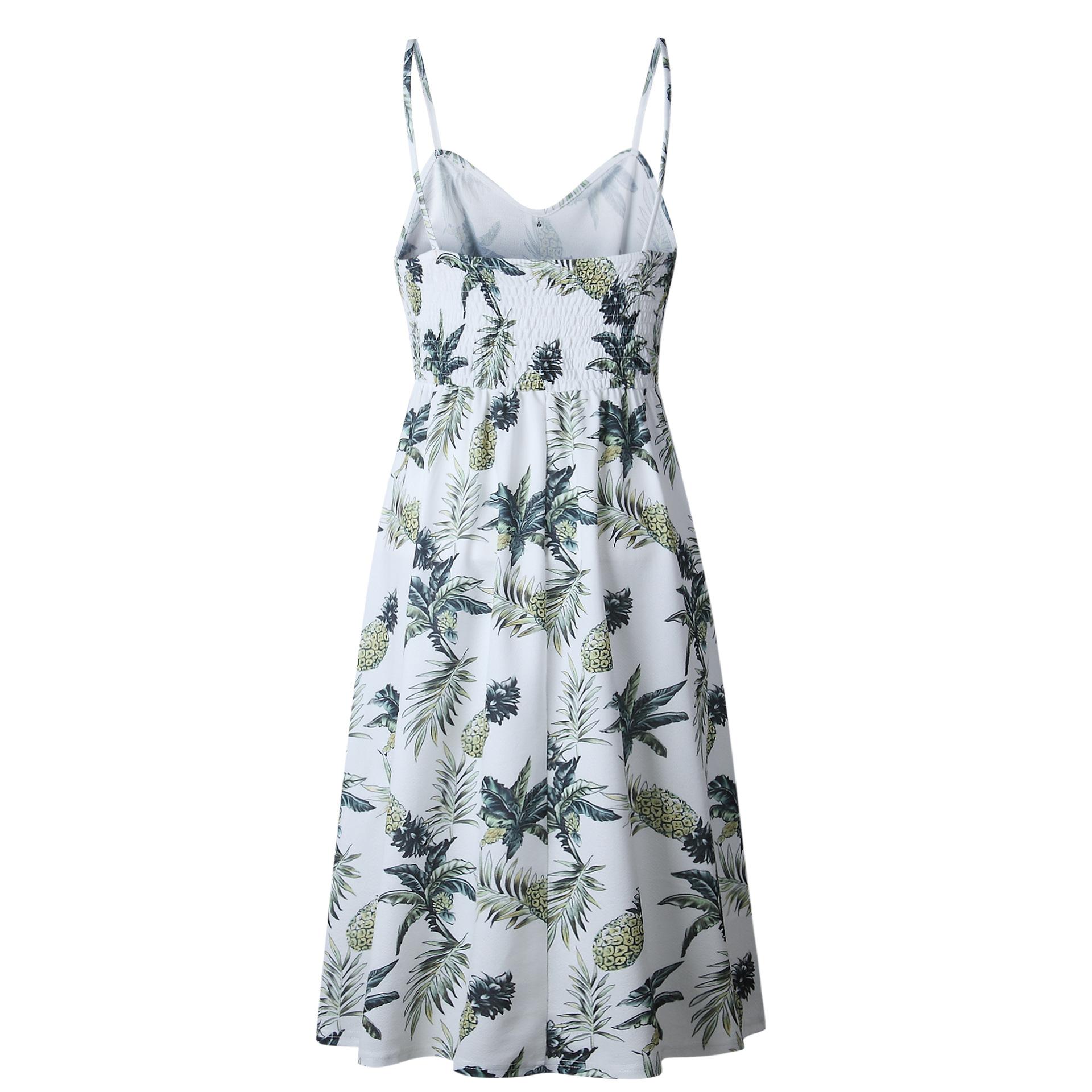 Boho Spaghetti Long Party Beach Dress