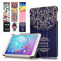 "Pintura luxo capa para huawei mediapad t2 10.0 pro/m2 10.0 fdr-a01w fdr-a03l 10.1 ""caso Tablet Couro Casos de Alta Qualidade"