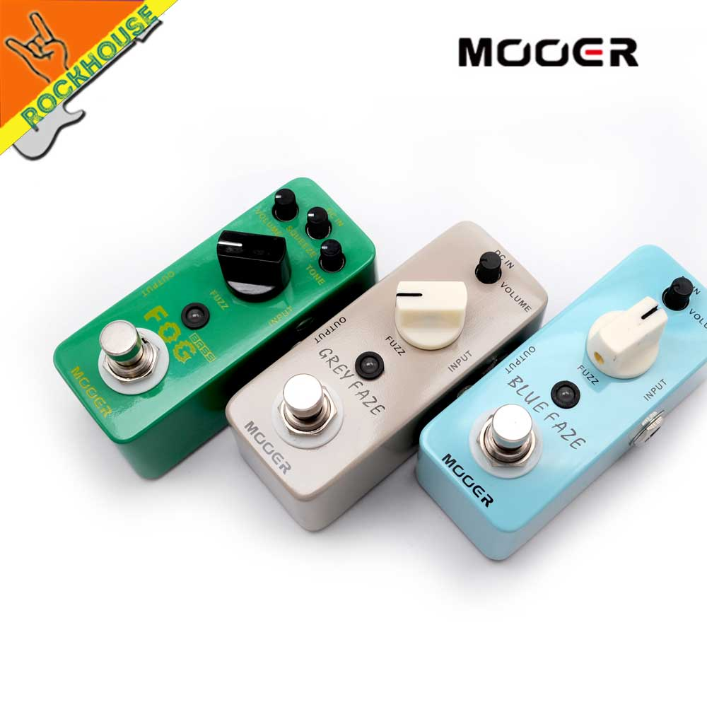 MOOER Fuzz Guitar Effects Pedal Bass Fuzz pedal kinds of Classics Fuzz Pedal tube sound High Gain True bypass Free Shipping new guitar fuzz true bypass high quality guitar effect pedal pcb and 3pdt 9 pin foot switch and more free shipping