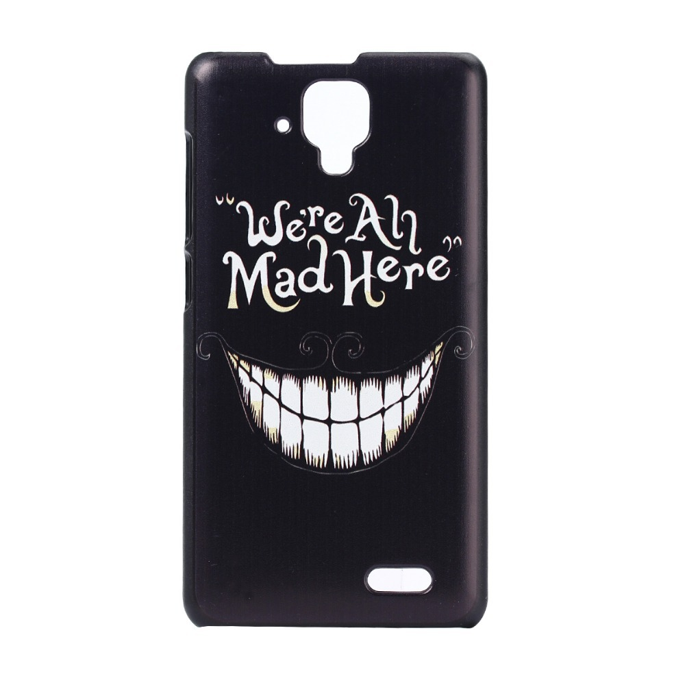 Luxury Hard Case For Lenovo A536 A358T Painting Back Cover Cellphone Protective Fit