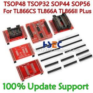 Image 3 - 8pcs Original V3 TSOP48/40/32 ซ็อกเก็ต SOP44/56 อะแดปเตอร์ XGecu TL866II Plus MiniPro TL866CS /A Tl866 Universal USB