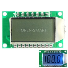 LCD Module Screen 3.5-Digit 7 Segment LCD Display Module HT1621 LCD Driver IC with Decimal Point Blue Backlight for Arduino