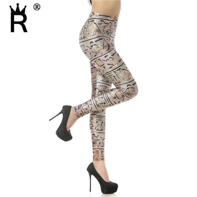 a806b85b1e76d7 Black milk leggins Ancient Egyptian Hieroglyph Digital Print Woman Leggings  KDK1093