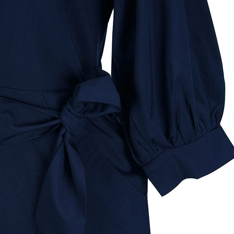 Zanzea 2018 Kvinder Sommerkjole Europæisk Halvemus Elegant Damekjole - Dametøj - Foto 5