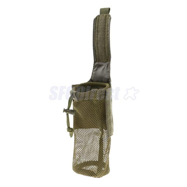 Details about  /Outdoor Foldable Mesh Water Bottle Carrier Drinking Pouch Bag Holder