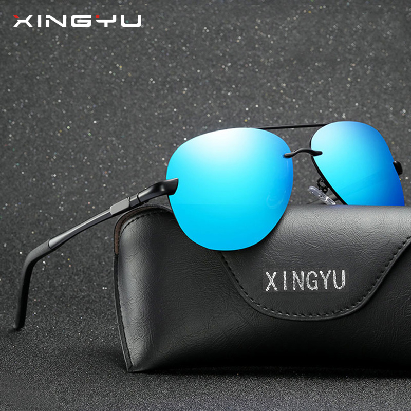 5d83f9f61a6d XINGYU Fashion Men Sunglasses Polarized 2018 New Unisex Vintage Original  Brand Eyewear Retro Polaroid Sun Glasses oculos XY007