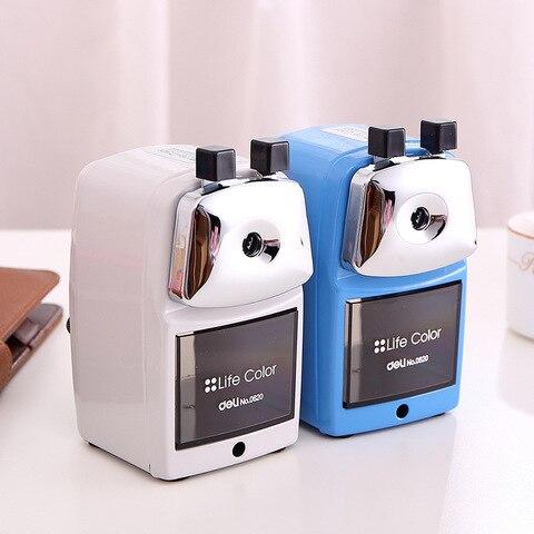 apontador de lapis e lapis papelaria e da bateria carga usb