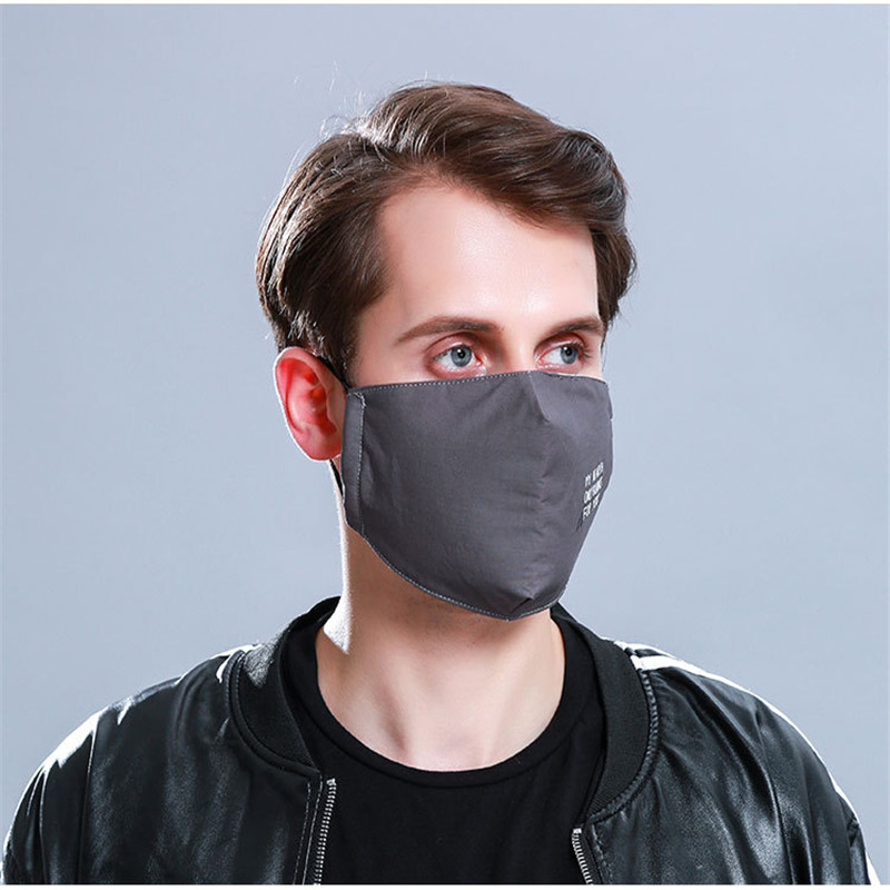 10pcs/Bags New Autumn And Winter Dust-proof Anti-haze Mask Men And Women Cotton Three-dimensional Fashion Korean Warm
