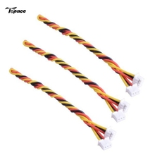 3pcs 15cm Silicone FPV Cable Wire for RunCam FPV Camera Quadcopter RC Drones With HD Camera Spare Parts Accessories DIY