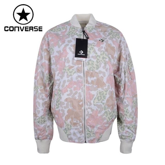 3037afd40587 Original New Arrival 2018 Converse Reversible Oversized MA-1 Bomber Women s  Jacket Sportswear