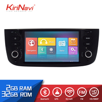 KiriNavi 6.2 HD Touch Display Android 9.0 For Fiat Linea 2012 2015 Car Radio MP5 Audio GPS Navigation Multimedia Play