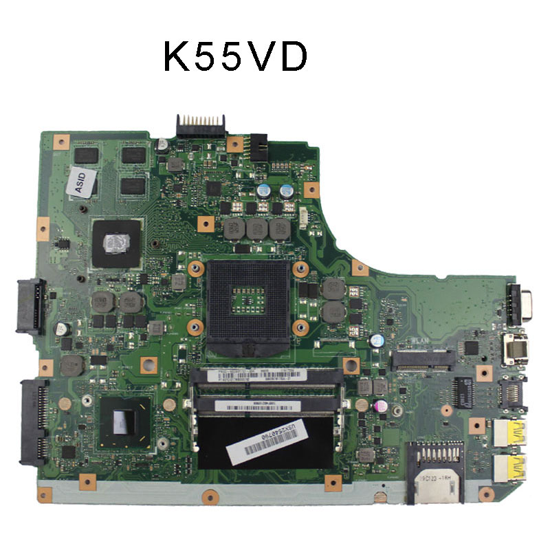 A55VD F55VD K55VD Motherboard for Asus HM76 GeForce 610M with 2GB REV 3.0 100% tested