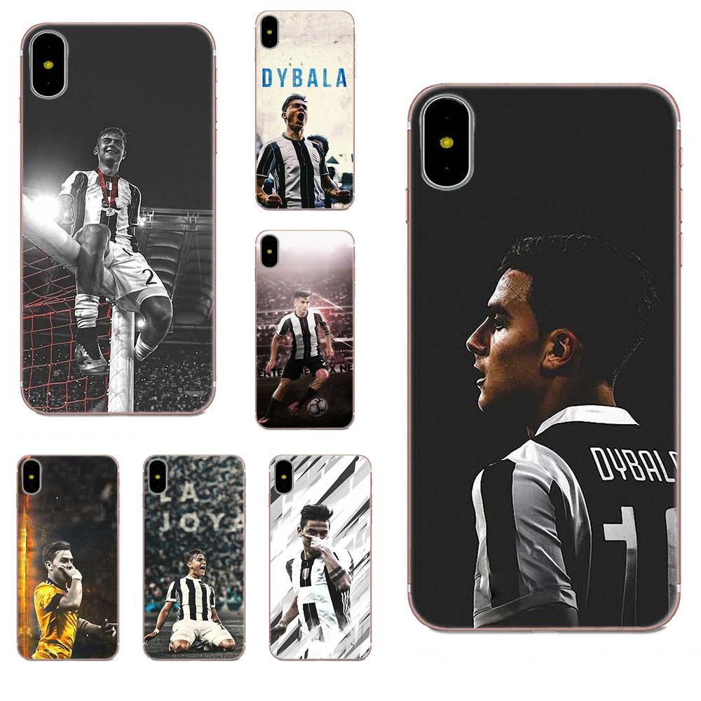 TPU Hot Selling For Apple <font><b>iPhone</b></font> 4 4S 5 5C 5S SE <font><b>6</b></font> 6S 7 8 Plus X XS Max XR Bruno Dybala Fashion image