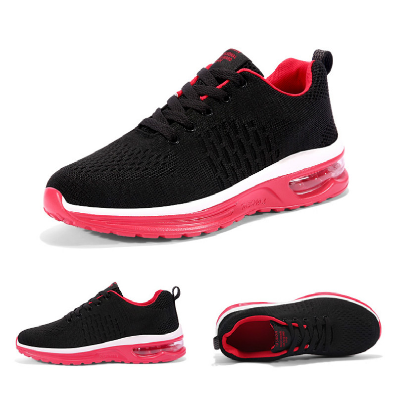 2019 New Arrival Brand Designer Casual Shoes Air Cushion Lightweight Breathable Sneakers Four Seasons Fashion Men Running Shoes in Men 39 s Casual Shoes from Shoes