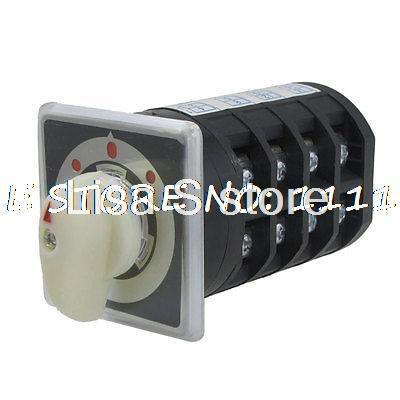 цена на Ui 690V Ith 40A ON/OFF/ON 16 Screw Terminals Universal Rotary Changeover Switch