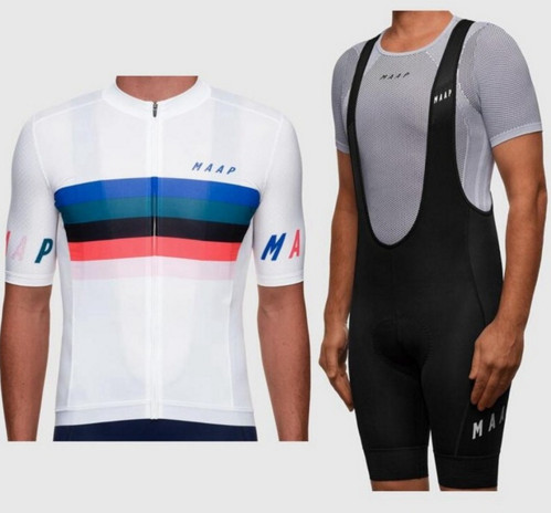2019 new MAAP PRO team summer man CYCLING JERSEY Short sleeve pro team fit profession race shirt ropa ciclismo clothing 9D gel
