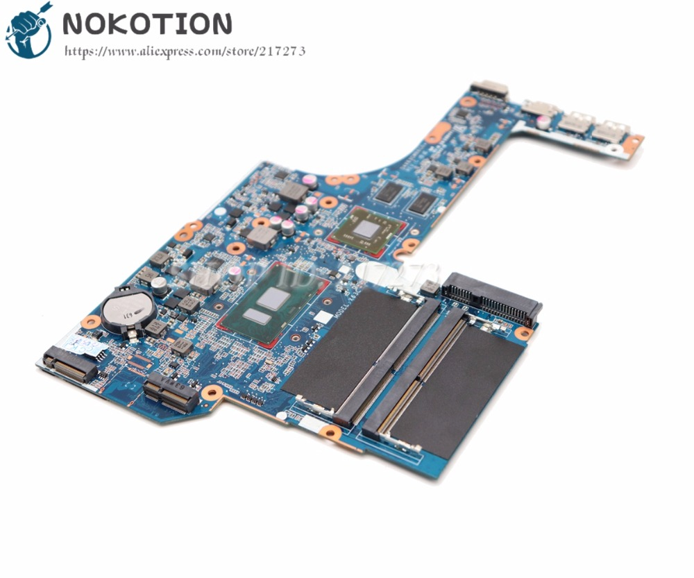 NOKOTION MAIN BOARD For HP Probook <font><b>450</b></font> G3 Laptop Motherboard SR2EY I5-6200U R7 M340 graphics card 828423-001 DAX63CMB6C0 image