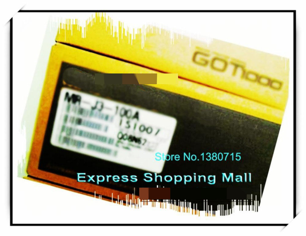 New Original MR-J3-100A 3PH AC220V 1KW AC Servo Drive new original drive mr j3 20a 1 3ph ac220v 200w ac servo drive
