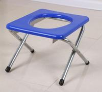 26cm Portable folding skidproof pregnant woman Bathroom Stool Bathing chair The aged Sit stool potty chair