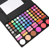 78 Цвета Тени Косметика Make up Palette Блеск для губ Зеркало Румяна комплект
