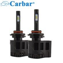 Carbar# P6 HB3/9005 светодиодный фонарь 50 Вт 6400lm/комплект 6000 К 5000 К 4000 к светодиодный фонарь хорошее качество Автомобильный светодиодный фонарь 9005