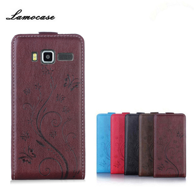 """Lamocase Case For Lenovo A916 Case 5.5"""" Luxury Print Flower Card Slot PU Leather Flip Cover For Lenovo A916 A 916 Phone Case"""