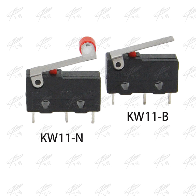 10PCS Limit Switch, 3 Pin N/O N/C High quality All New 5A 250VAC KW11-3Z Micro Switch Pulley KW12-N KW12-B 10pcs limit switches 3 pin n o n c 5a 125v 250vac micro switch roller lever arm pcb terminals kw12 3