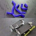 L & R алюминиевого сплава радиатора и силиконовый шланг Для Honda CRF450R CRF 450 R 2013 2014