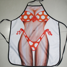 Creative Sexy Aprons Novelty Wonder Woman Men Kitchen Apron Fancy Dress Delantal Cocina Dinner Party Cooking Home Accessories