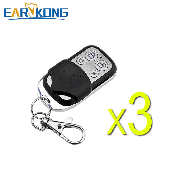 Free Shipping 433MHz Wireless Remote Controller, 4 Keys, Big Button, Very Popular In European Market