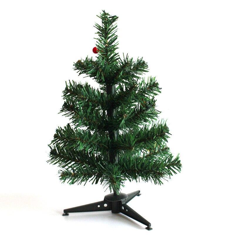 30cm mini christmas tree christmas supplies household for Artificial christmas decoration tree