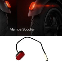 Electric Scooter Rear Tail Lamp Light Stoplight Brake Light with Line Taillight Kit for XIAOMI MIJIA M365 M187 Bird Spin Scooter(China)