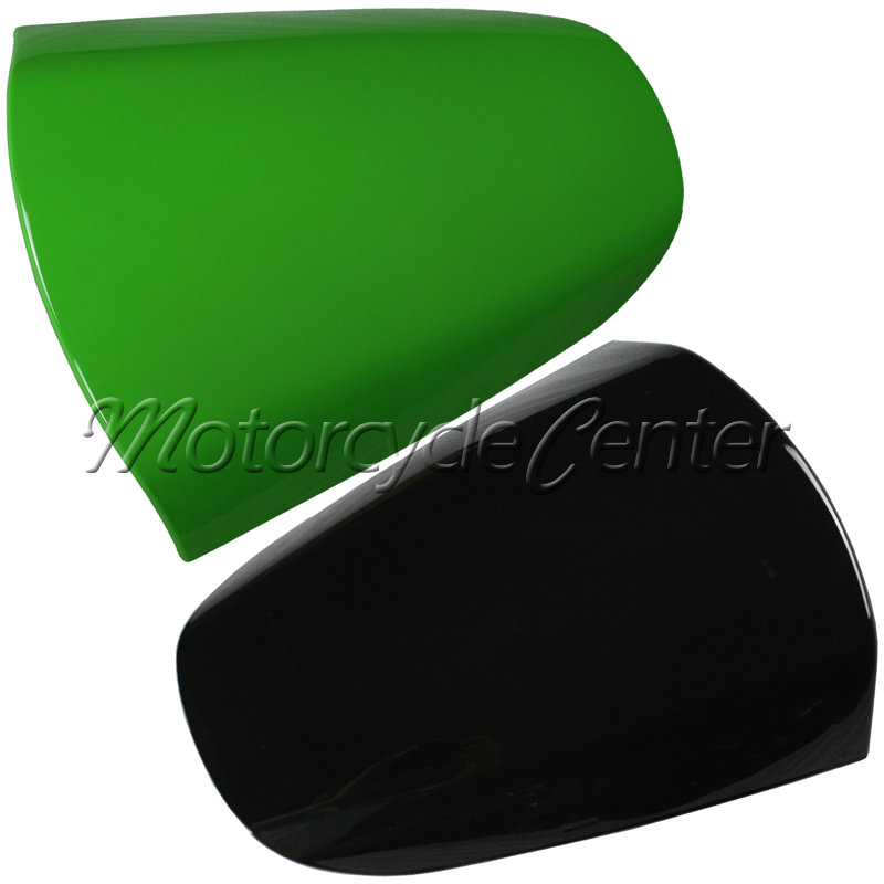 Hot Sale ABS Plastic Motorcycle Rear Seat Cover Cowl For Kawasaki Ninja ZX12R ZX 12R ZX1200A 2000-2005 Green Black Fairing hot sale hot sale car seat belts certificate of design patent seat belt for pregnant women care belly belt drive maternity saf