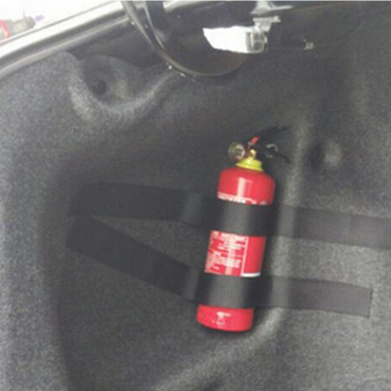 1set Car Trunk Fire Extinguisher Fixing Strap For BMW E46 E90 E60 E39 E36 F30 F10 F20 X5 E53 E70 E30 E87 G30 E34 E91 Accessories image