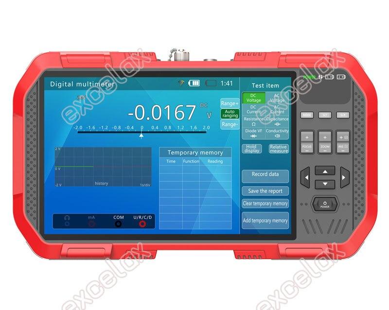 "Image 2 - Full functional 5 In 1 IP AHD TVI CVI CVBS Analog Camera CCTV Tester 7"" Touch Screen 4K 8MP WiFi ONVIF TDR Optic Multimeter TestCCTV Control System   -"