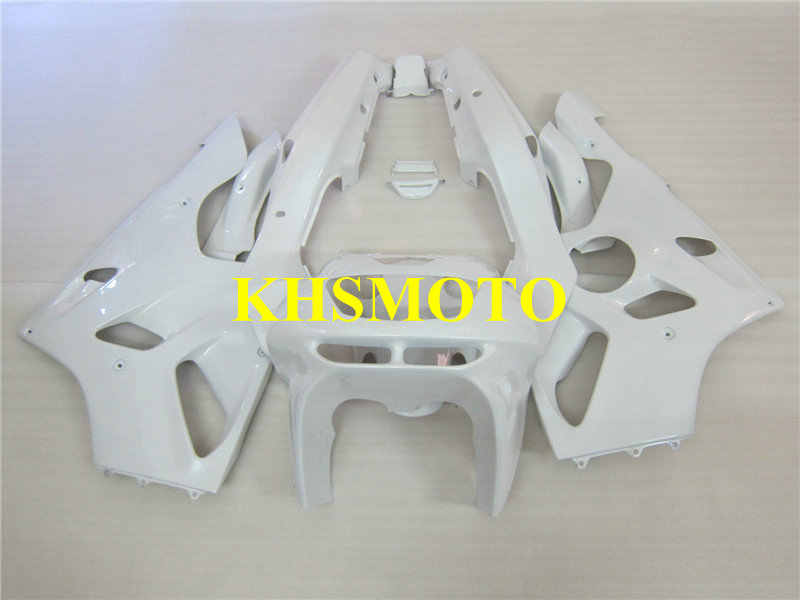 Custom Fairing Kit for KAWASAKI Ninja ZX6R 94 95 96 97 ZX 6R 1994 1996 1997 ABS All white Motorcycle Fairings set+gifts KZ11