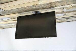 Image 5 - Soporte de Monitor LCD para techo de coche plegable alargado F1440L, pantalla LED de 17 37 pulgadas, colgador de montaje en TV, estante de montaje en pared, soporte para armario y TV