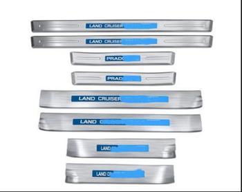 2010-2019 Dirancang Khusus untuk Toyota Prado 2700 Mereparasi 4000 Stainless Steel Ambang Bar Selamat Pedal Aksesoris Dekoratif