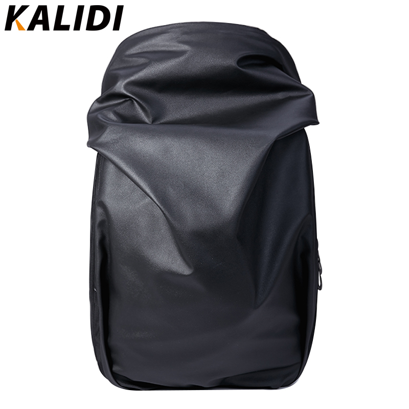 KALIDI Brand Men Backpacks Waterproof Backpack Rain Cover Multifunction School Travel Backpack 15.6 Inch Unisex Laptop Backpack