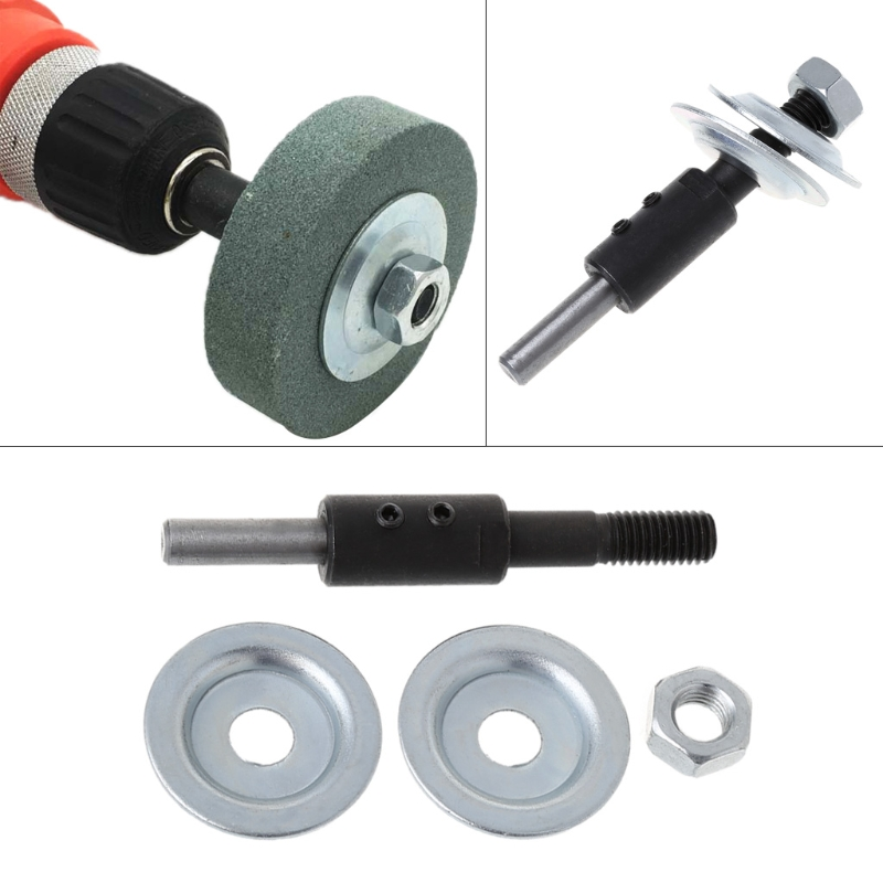 Spindle Adapter Bench Grinder Left Axial For Grinding Polishing 8mm Shaft Motor