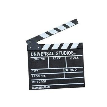 31*28*20*18 см Большие размеры для видеорежиссера с хлопушкой для сцены видеосъемки ТВ кинонумератор с «хлопушкой» Доска пленка Сланец Cut Опора ...