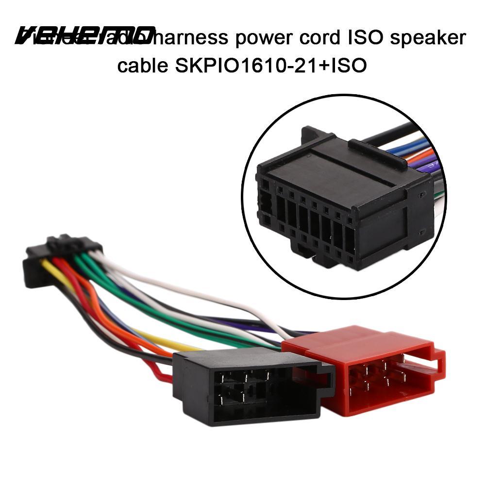 Vehemo Iso Wire Harness Harness Connector Radio Harness
