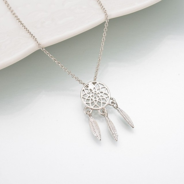 Dream Catcher Pendant Necklace for Women