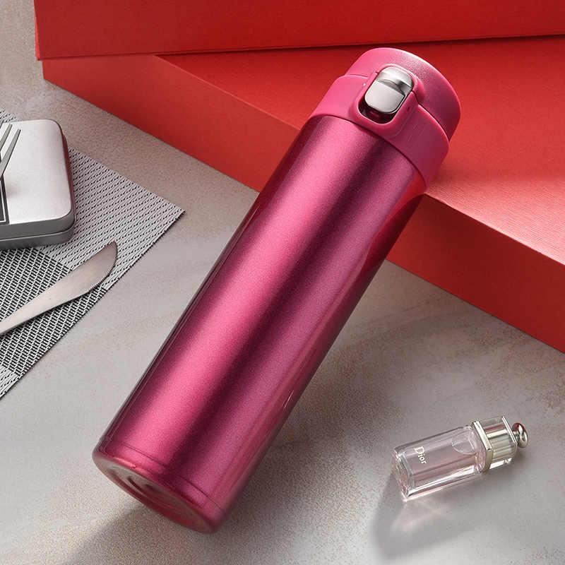 新デザインのための二重壁のステンレス鋼真空フラスコ魔法瓶カップコーヒー茶ミルク旅行マグサーモボトルギフトサーモカップ