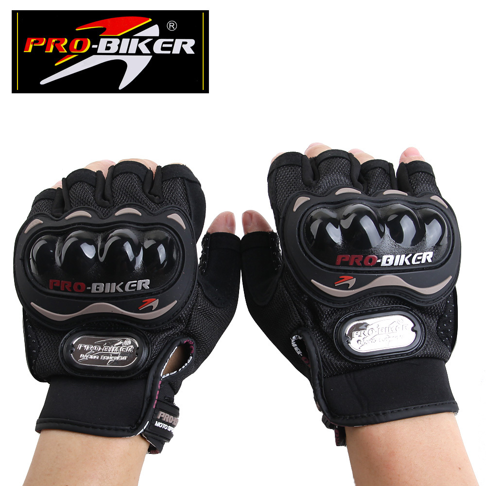 Motorcycle gloves half finger - Aliexpress Com Buy Free Shipping Pro Biker Half Finger Motorcycle Gloves Cycling Gloves Sport Gloves With Armor Cover Protective Gear Mcs 04 From Reliable