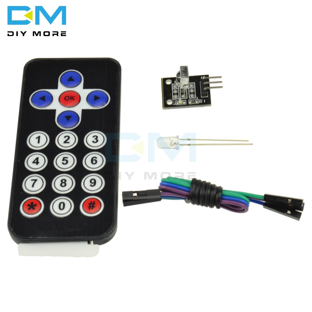 <font><b>HX1838</b></font> Wireless IR Receiver Module Infrared Remote Control Module DIY Kit For Arduino FOR Raspberry Pi CR2025 Expansion board image