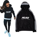 Palace Skateboards Hoodie Men Women Autumn High Quality Cotton 1:1 Version 3M Reflective Zipper Tracksuit Palace Sweatshirts